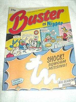 UK Comic Buster and Nipper 3rd October 1987
