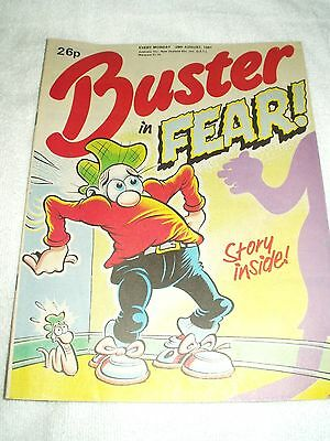 UK Comic Buster 29th August 1987
