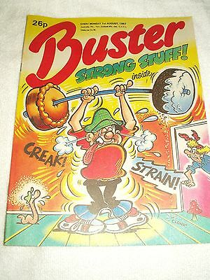 UK Comic Buster 1st August 1987