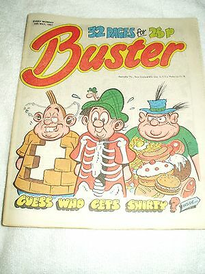 UK Comic Buster 16th May 1987