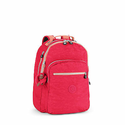 BNWT Kipling CLAS Seoul Laptop Backpack FLAM SHELL C SPF2016 RRP £84