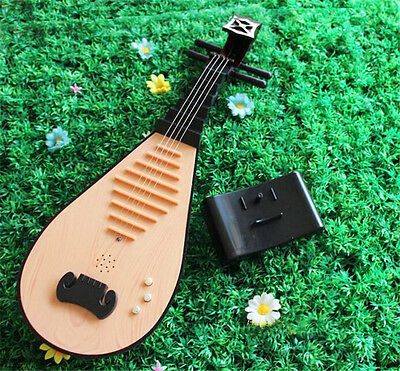 Simulation Lute Toys Musical Instruments Stage Performance Props Lutes Kid's Toy