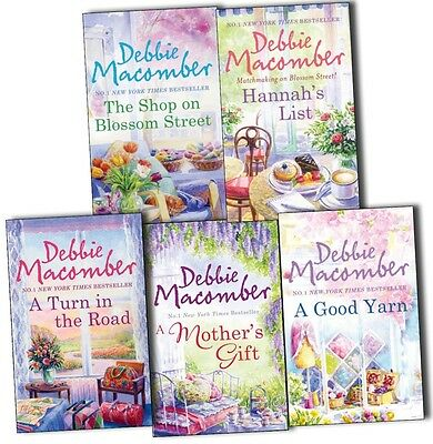 Debbie Macomber Blossom Street 5 Books Collection Pack Set- The Shop on Blossom