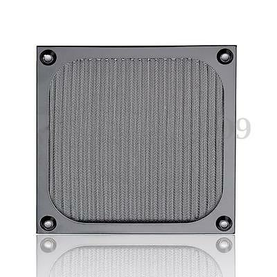 Black PC Fan Cooling Dust Filter Case Cover Dustproof For Aluminum Grill Guard