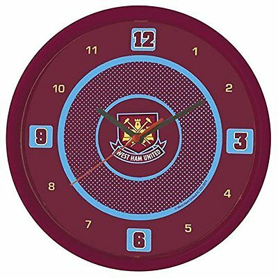 West Ham United Bullseye Wall Clock