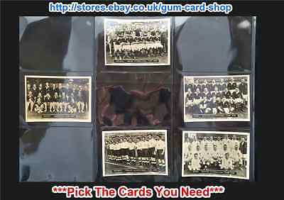 ☆ Ardath Photocards - Series Z - (G) 1936 (Cards 161-219) *Please Select Card*