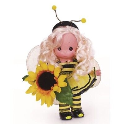 Precious Moments 9 Inch Doll, Garden Fairies - Buzzey, Doll-Bee Outfit, New 3518