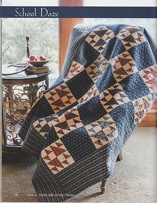 School Daze Quilt Kit featuring Lizzie's Legacy by Betsy Chutchian for Moda
