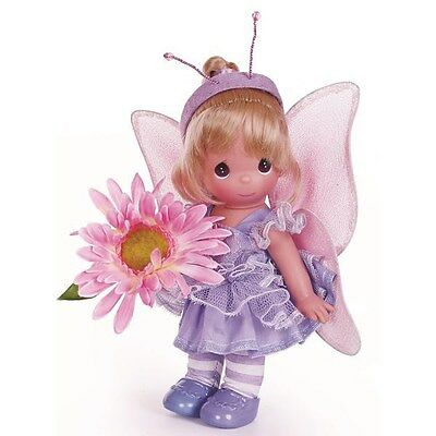 Precious Moments 9 Inch Doll, Garden Fairies, Fluffy The Butterfly, New, 3520