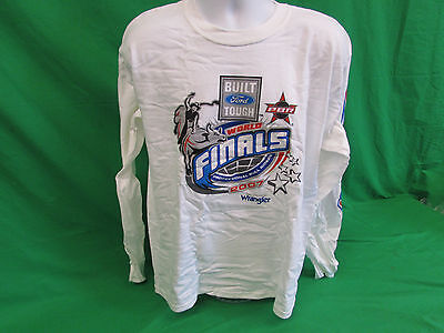PBR Professional Bull Riding Long Sleeve 2007 World finals T-shirt size M L XL