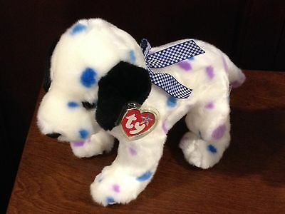 Retired Ty Beanie Buddy Dizzy The Dog Mint With Tags