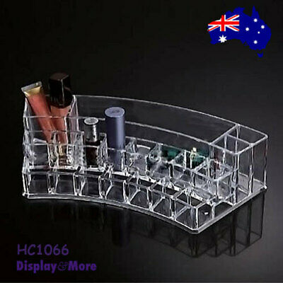 Cosmetic Display BEAUTY Makeup Holder | CLEAR Acrylic | BEST VALUE | AUS Stock
