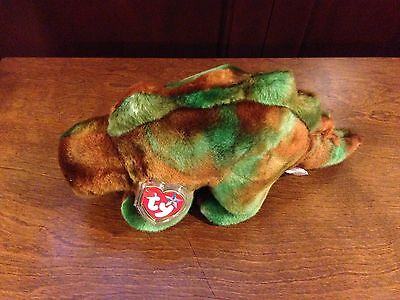 Retired Ty Beanie Buddy Steg The Stegasaurus  Mint With Tags
