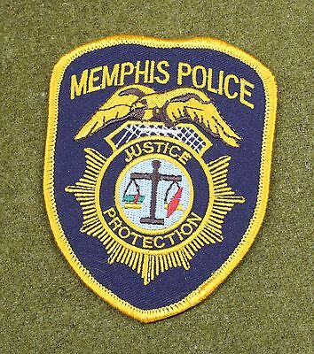 27979) Patch Memphis Tennessee Police Department Sheriff Badge Uniform