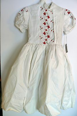 Vintage Children's Girls Clothes Tiny Town Togs Dress Size 12