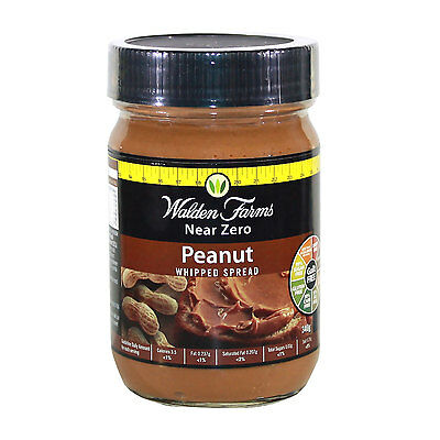 WALDEN FARMS LOW CALORIE  WHIPPED PEANUT BUTTER SPREAD 340g