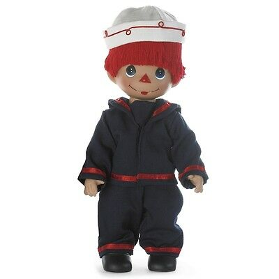 Precious Moments, Come Sail Away with Me, 12-inch Raggedy Andy Sailor Doll 4678