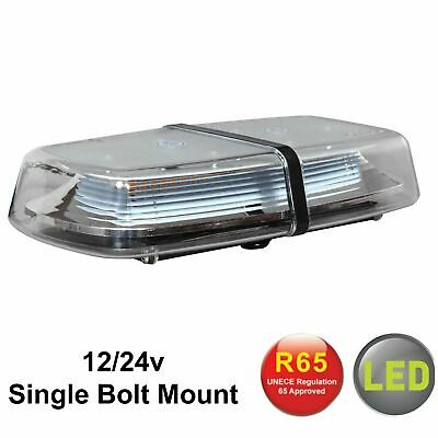 RVL1224SP bolt-on amber LED mini light bar flashing warning beacons 12/24V