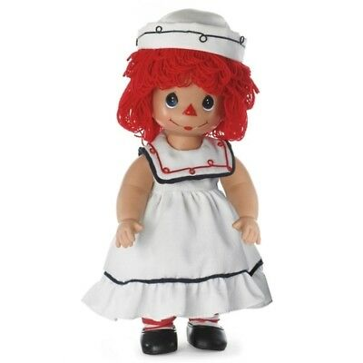 Precious Moments 12 Inch Raggedy Doll, Sail Away With Me, Sailor Girl, New, 4677