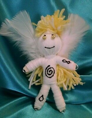 Angel Poppet Protection Angel herb infused Karma Keepers Voodoo Dolls Wicca
