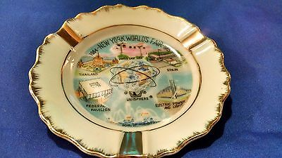 1964 - NEW YORK WORLDS  FAIR ASHTRAY- 1965...Excellent Condition