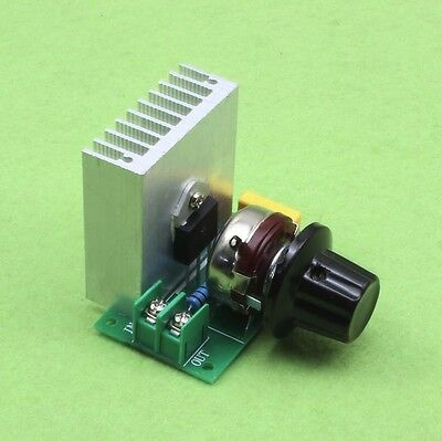 1PCS Speed Controller AC 3800W SCR Electric Voltage Regulator Dimming Switch K9