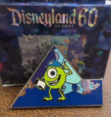 MIKE CHASER Disneyland 60 Mystery Box Puzzle #4 Pin LE300 Disney Diamond