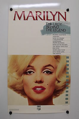 MARILYN : The Lady Behind The Legend - 1987 - Silver Anniversary Commemorative