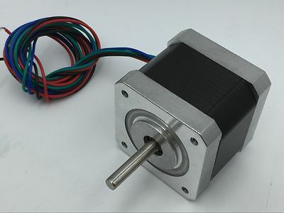 4Wire Nema17 Stepper 42BYG Motor 0.4N.m 57oz.in 1.3A 2ph for 3D Printer CNC