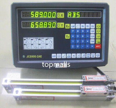 2 Axis digital readout dro for milling lathe machine with precision linear scale