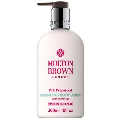 Molton Brown Pink Pepperpod Nourishing Body Lotion 300ml for her BRAND NEW