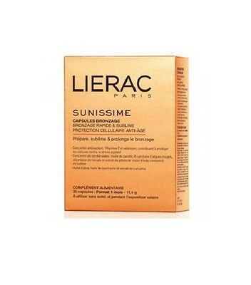 Lierac Sunific 30 Tanning Capsules ANTI AGE  NATURAL BRONZER/QUICK TAN 30 DAYS!