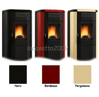 "Pellet Stove Air ""viviana"" Extraflame 11.4 Kw Total New"