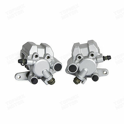 Left&right Front Brake Caliper For Yamaha Banshee 350 Yfz350 1990-2006