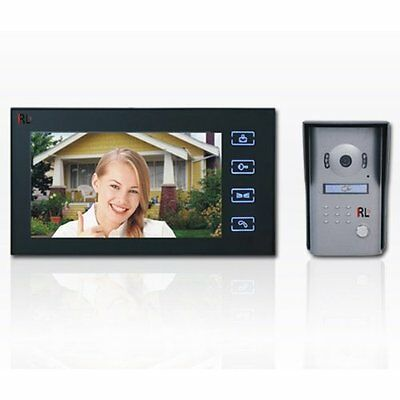 SEQ8806  7'' Color Video Doorphone with auto-recording and ID Unlocking Function