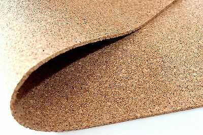 kick rollers Cork soundproofing 2mm 100 x 50cm Corkboard Dry screed Insulation