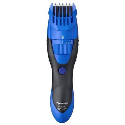 Panasonic ER-GB40A Men's Hair Beard Stubble Cordless Clipper Trimmer Wet/Dry New
