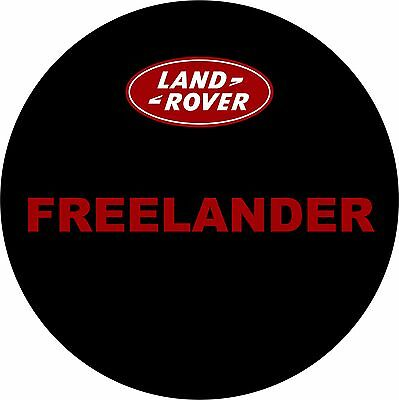 4x4 Spare Wheel Cover Graphic Vinyl Sticker Freelander Land Rover AA159