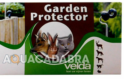 Velda Garden Protector Electric Wire Fence Aviery Pond Heron Cat Deterrent Fish