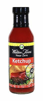 WALDEN FARMS NEAR ZERO CALORIE KETCHUP SAUCE 340g