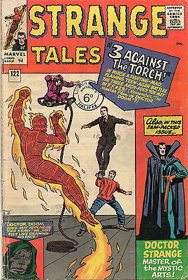 Strange Tales # 122 / V.good+ / Price Variant / Nightmare / Ditko.