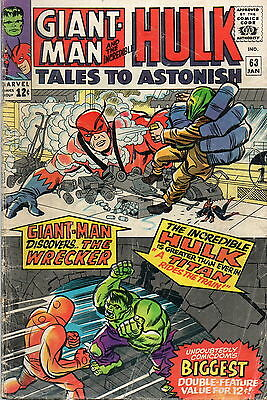 Tales To Astonish # 63 / V.good+ / Origin Of The Leader.