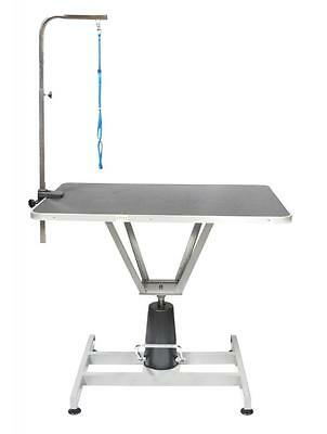 Go Pet Club Pet Dog Hydraulic Grooming Table w/Arm, 36-Inch HGT-501 NEW