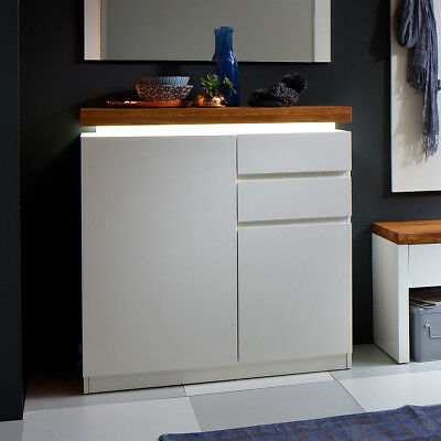 schuhschrank garderobe hochglanz glanz lack creme wei. Black Bedroom Furniture Sets. Home Design Ideas