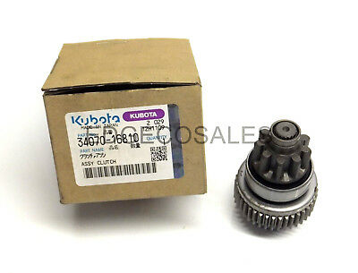 """Kubota """"L & STW Series"""" Tractor Starter Assembly Clutch - *3407016810*"""
