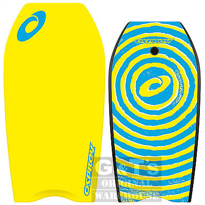Osprey Spiral Yellow XPE Bodyboard with Leash 37 or 41 Inch