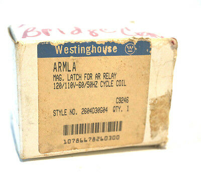New Westinghouse Armla Relay Latch Coil