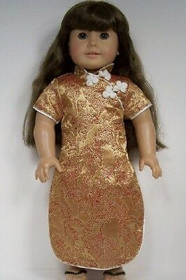 """Debs BRICK Oriental Asian Dress Costume Doll Clothes For 18/"""" American Girl"""