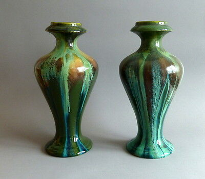 Art Nouveau  Pair of Vases