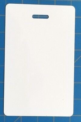 Blank Plastic Vertical Make Your Own Badge ID Card Pocket Reference Nurse School